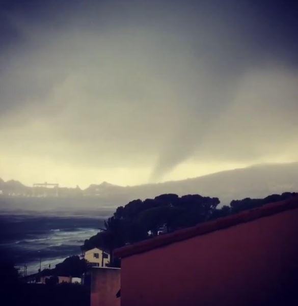 Tornado a La Ciotat, fonte Keraunos Observatoire