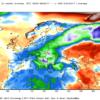 Anomalie termiche al suolo registrate nel periodo che va dal 1 Gennaio al 12 Gennaio 2017