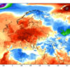 Anomalie termiche al suolo registrate nella prima decade di Aprile