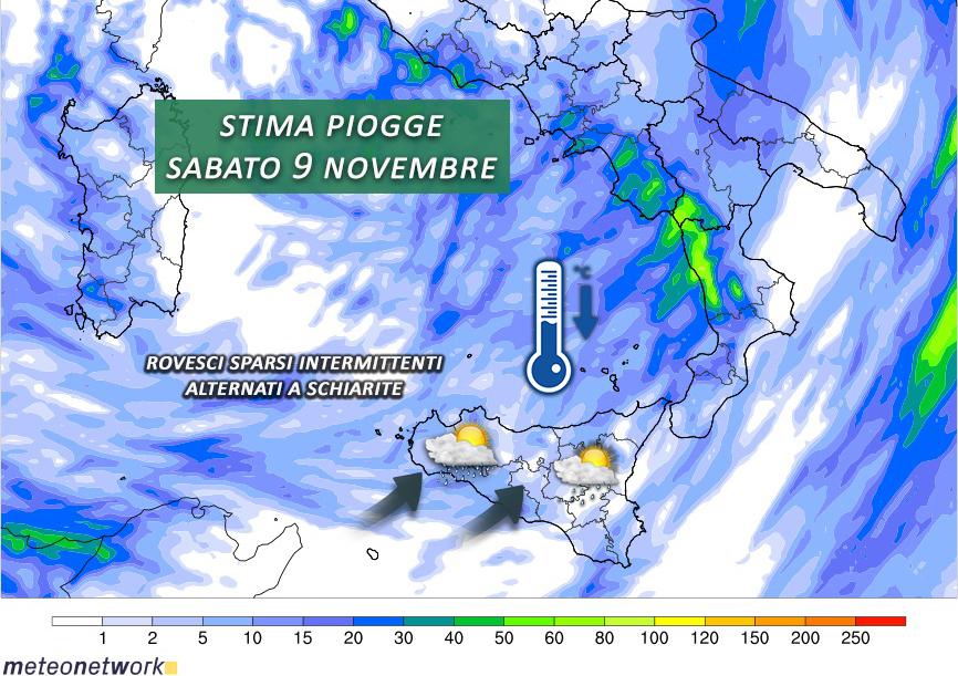 piogge 9 novembre