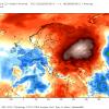 Anomali termiche nella quarta settimana di Settembre. Fonte: weatherbell.com