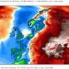 Anomalie termiche registrate fra il 15 e il 16 Febbraio 2016